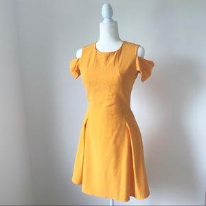 Z Spoke by Zac Posen Marigold/Yellow Dress Size 4